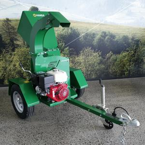 Demonstrator Unit Hansa C13-RT Brush Chipper Shredder - Road Towable with Swivel Discharge Chute