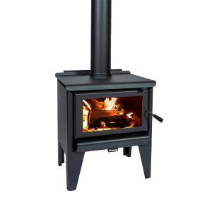 Masport R1200L Clean Air Wood Fire inc Flue Kit