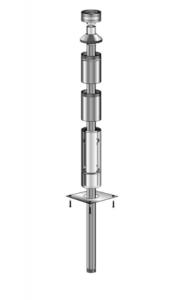 Flue Kit for Freestanding 175mm Diam. Flue