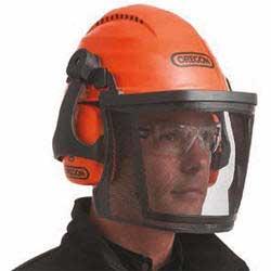 Oregon Chainsaw Safety Helmet c/w Visor and Earmuffs