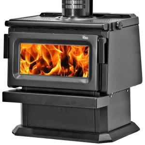 Yunca WEDJ Clean Air Wood Fire - Black