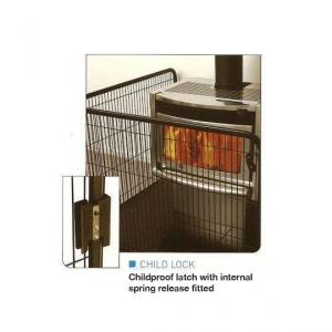 Pioneer Fire Guard Corner Type – Small