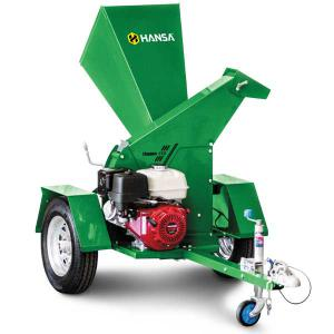 Hansa Hire C13-RT Brush Chipper Shredder – Road Towable