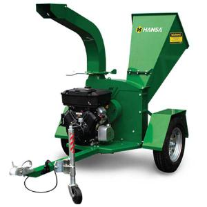 Hansa C16 V-Twin Commercial Brush Chipper Shredder – Road Towable