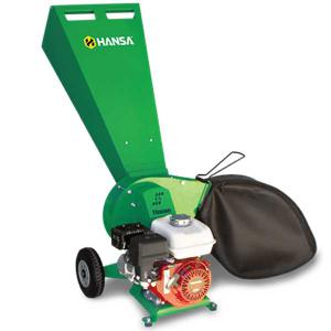 Hansa C4 Brush Chipper Shredder including Catcher Bag