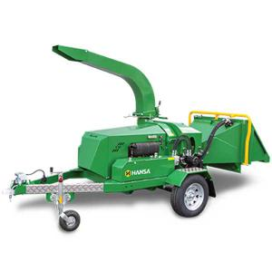 Hansa C40 Brush Chipper Shredder – Road Towable