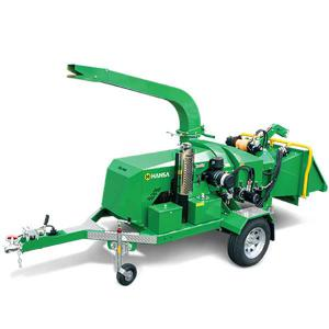 Hansa C60 Brush Chipper Shredder – Road Towable