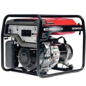 Honda EG5500-CX 5.5kVA Generator with D-AVR
