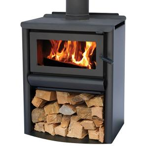 Masport R5000-WS Clean Air Wood Fire with Flue Kit