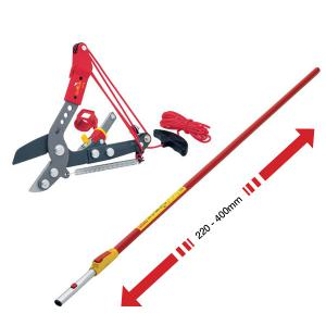 Wolf Garten Multi-Star® RC-VM Adjustable Anvil Tree Lopper with ZMV4 Handle