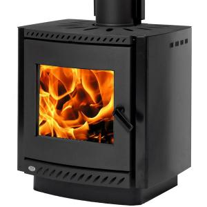 Yunca Oscar Clean Air Studio Wood Fire with Flue Kit