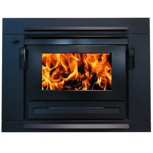 Yunca Xander Zero Clearance Insert Wood Fire