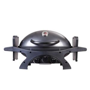 Ziegler & Brown ZIGGY Triple Grill BBQ – Gunmetal