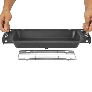 Ziegler & Brown Triple Grill Baking Dish and Rack