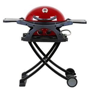 Ziegler & Brown ZIGGY Twin Grill with Folding Cart