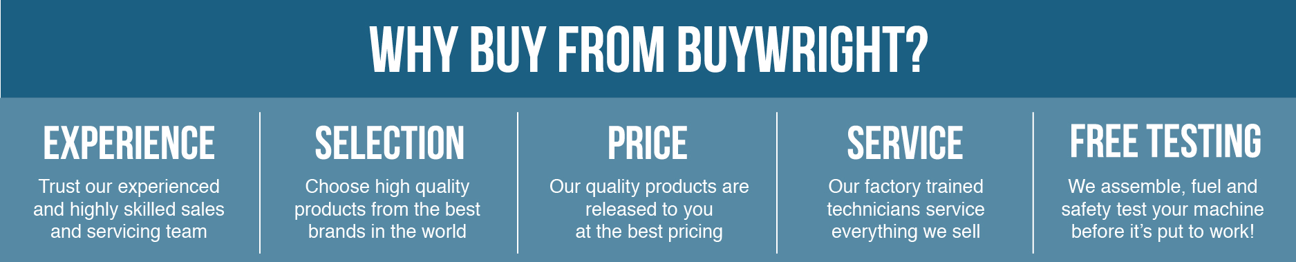 Why Buy From Buywright.co.nz